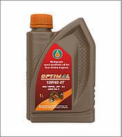 Полусинтетическое моторное масло для 4-х тактных двигателей OPTIMAL 10W40 4T, 1 л.
