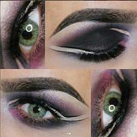 Цветные линзы для зрения. Зеленые натуральные линзы для зрения с диоптриями