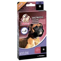 Намордник Karlie-Flamingo Muzzle Nylon Special для собак с корким носом