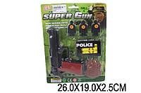 Полицейский набор 3025C (1635447) (192шт/2) 2 вида, на планшетке 26*19*2,5см