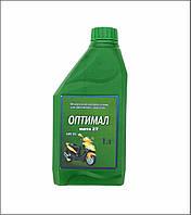 Масла для мотоциклов и моторных лодок. Минеральное моторное масло ОПТИМАЛ МОТО 2Т, 1 л.