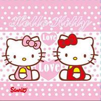 "Салфетки бумажные ""Хелло Китти"" (Hello Kitty) 20шт/уп"