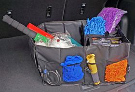 Дорожня сумка - трансформер в авто Чорна