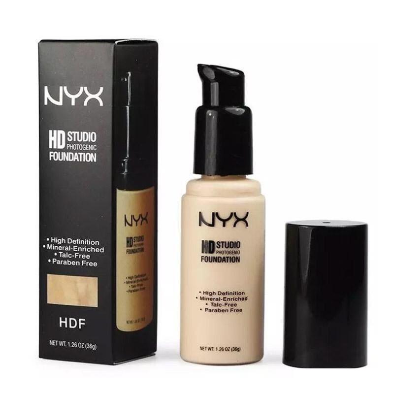 Тональное средство NYX Professional Makeup HD Studio Photogenic Foundation  35ml №1,2,3,4 - FA82