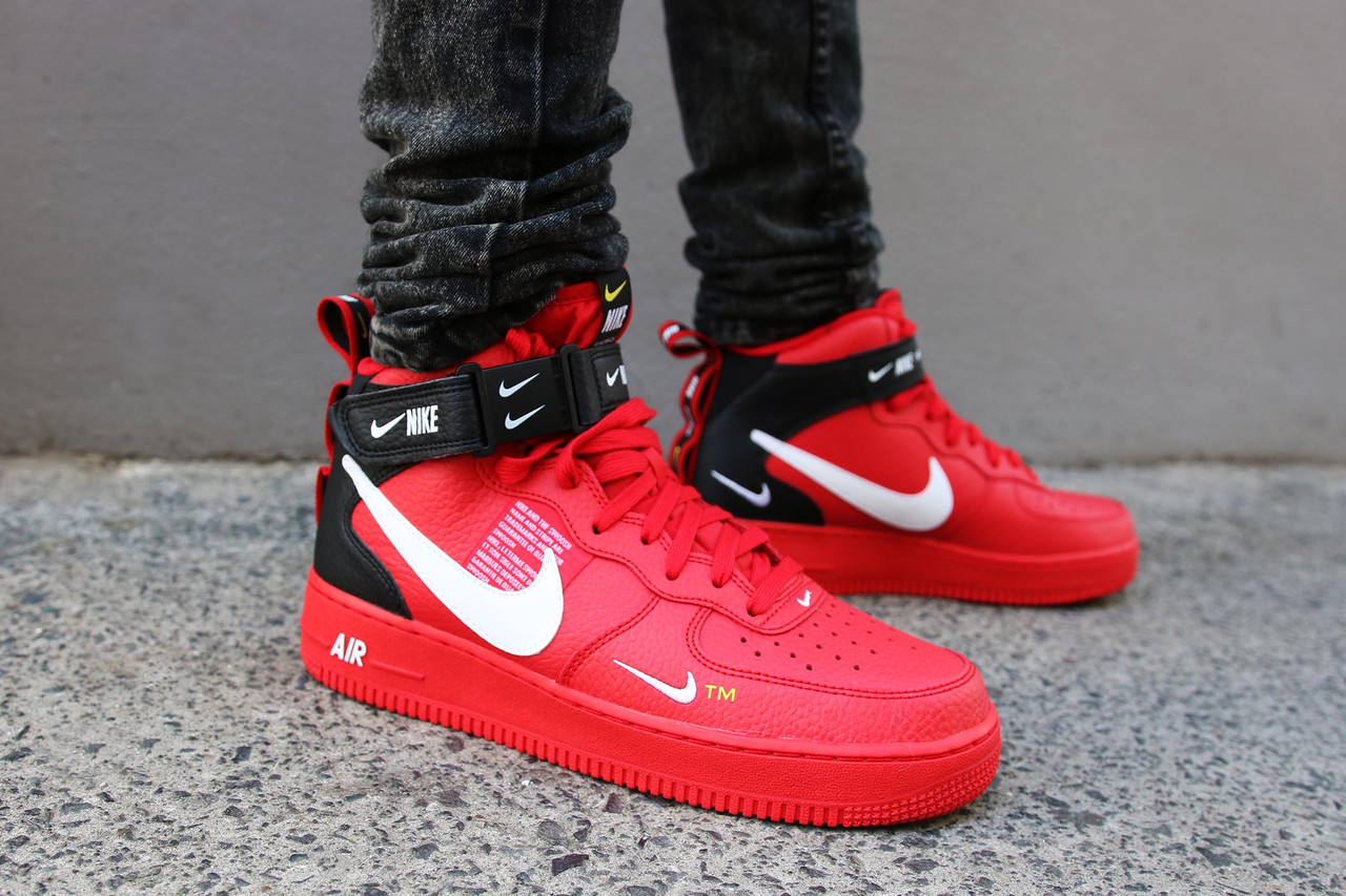1eca20f8 Кроссовки Nike Air Force 1 Mid '07 LV8 Utility