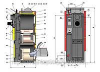Комбинированные, пиролизные, дровяные, пеллетные, газовые, дизельные (жидкотопливные) котлы Atmos DC18SP(L), фото 1