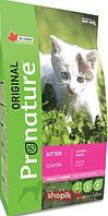 Сухой корм для кошек Pronature Original Kitten Chicken Recipe для котят с курицей