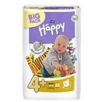 Подгузники Bella Happy Maxi 4+ Plus (9-20 кг) 62 шт