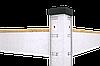 Стеллаж Бюджет (2000х900х600) оцинкованный на зацепах, 5 полок, МДФ, 175 кг/полка, фото 2