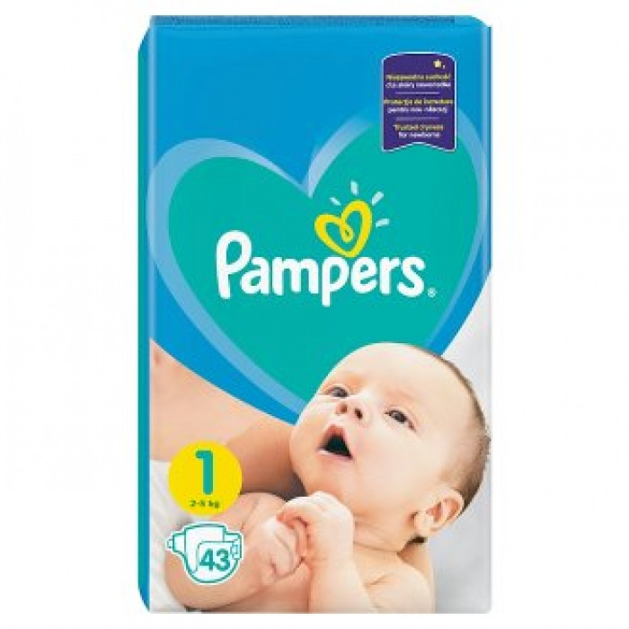 bf98353fe020 Подгузники Pampers Active Baby-Dry 1 (2-5 кг), 43шт, цена 154,80 грн ...