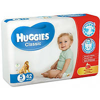 Подгузники Huggies Classic 5 (11-25 кг)  42шт