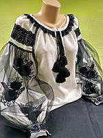 """Женские блузка вышиванка """"Бутон"""""""