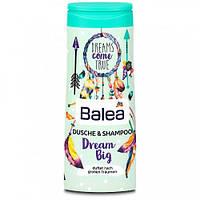 Гель для душа+шампунь детский  для девочек Balea 300 мл