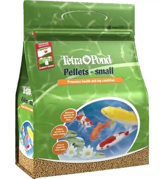 Tetra Pond Pellets Small корм для мелких прудовых рыб в гранулах, 4 л
