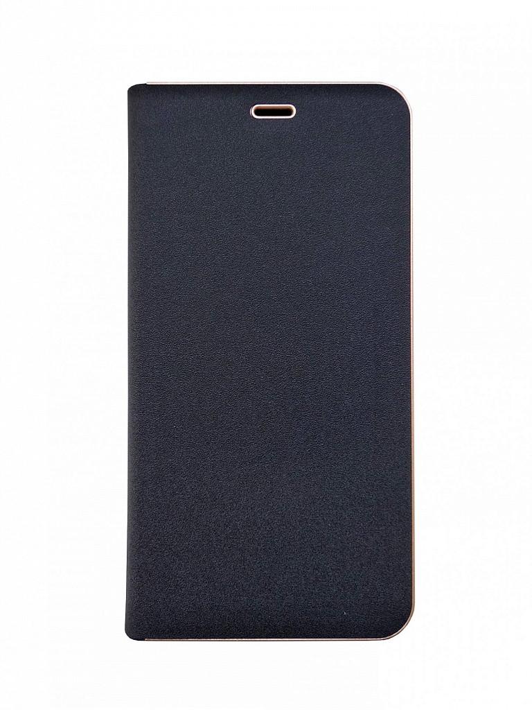 Чехол-книжка для Huawei Y7 2018 Prime Florence TOP №2 черная