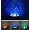 Музыкальная черепаха проектор ночного неба игрушка, фото 3