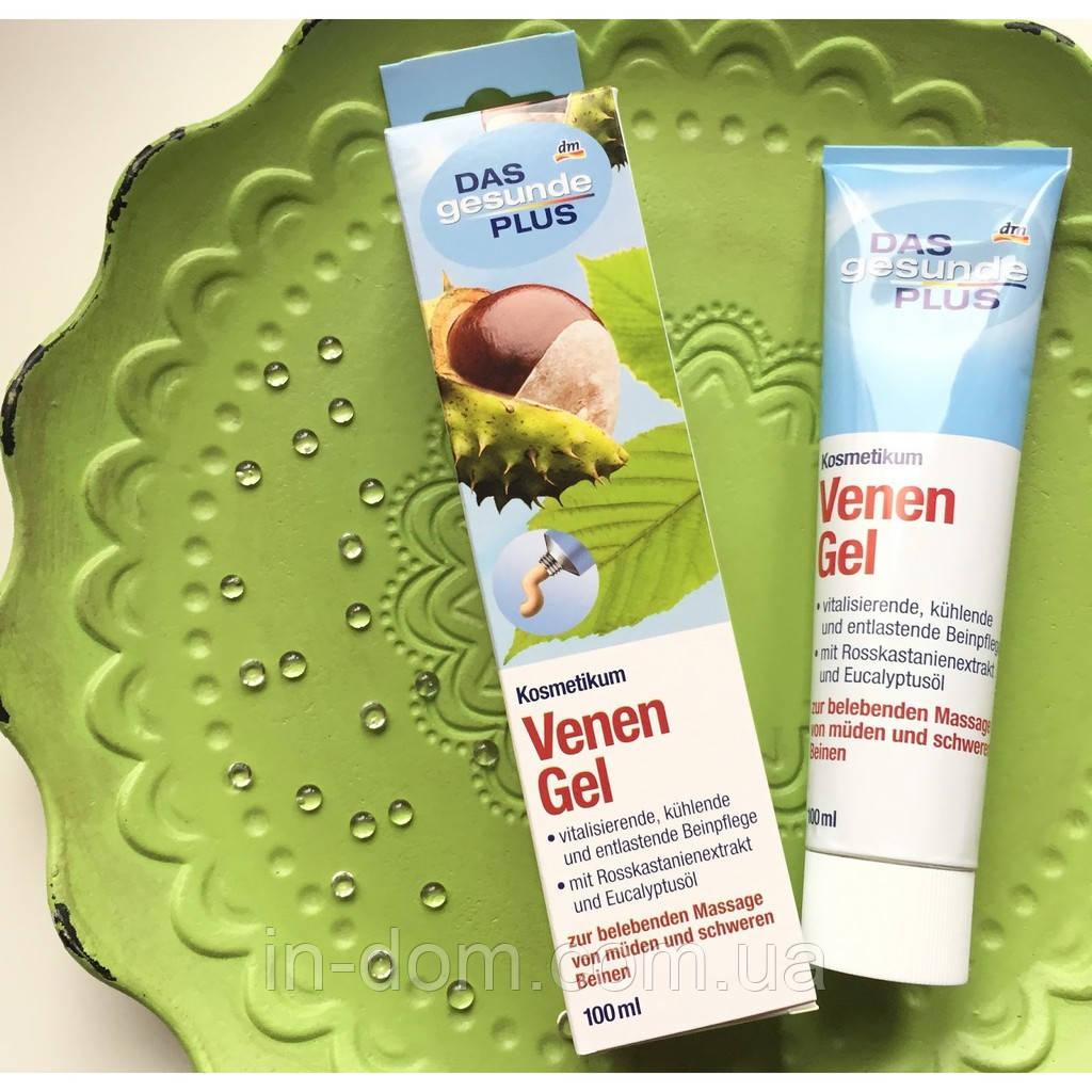 Das gesunde Plus Venen Gel N гель для вен против варикоза на основе конского каштана 100 мл