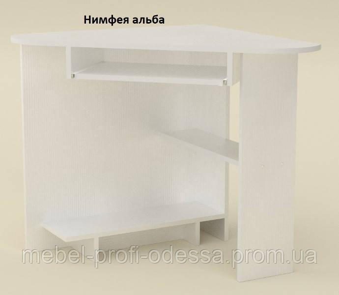 Угловой компьютерный стол СУ 15 Компанит 757х757х736