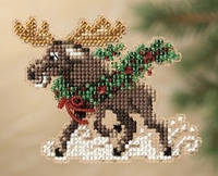 Набор для вышивки Mill Hill Merry Moose