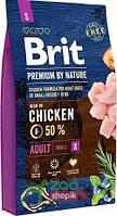 Сухой корм для собак Brit Premium Adult S