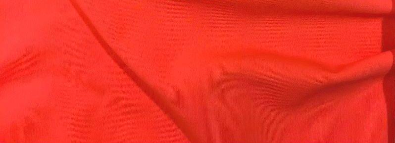 Трикотаж Бифлекс, Матовый, оранжевый
