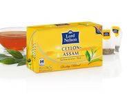Чай черный Lord Nelson Ceylon-Assam 50 пакетов, фото 2