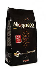 Miogatto Sterilizzatti корм для стерилизованных кошек с курицей, 1.5 кг