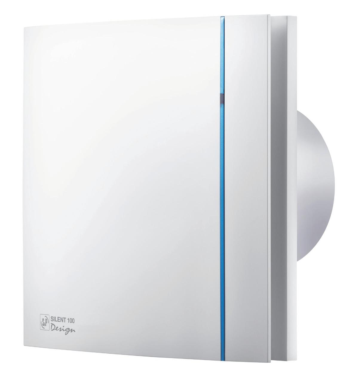 Вентилятор бытовой осевой S&P SILENT-100 CZ DESIGN (230V 50)