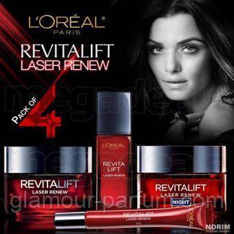 Набор кремов L`oreal Revitalift Laser Renew ( Лореаль Ревиталифт Лейсер Реньюв) 4 в 1