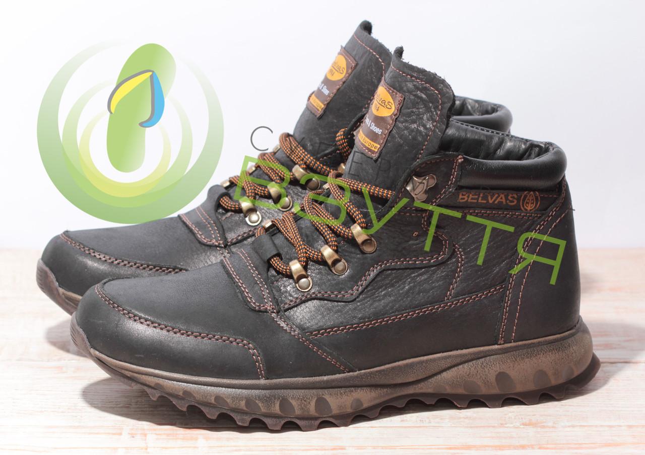 Кожаные мужские ботинки арт 18129 размеры 41,43,44,45