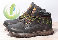 Кожаные мужские ботинки арт 18129 размеры 41,43,44,45, фото 1