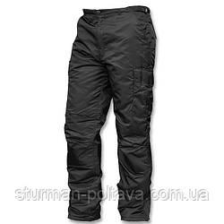 Штани чоловічі зимові утеплені US THERMOHOSE MA1® NYLON МА-1 колір чорне Mil-tec Німеччина