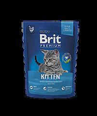 Сухой корм Brit Premium Kitten для котят с курицей 1.5 кг