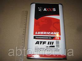 Масло трансмісійне AXXIS ATF 3
