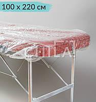 Чехол одноразовый 100*220 см полиэтиленовый на кушетку