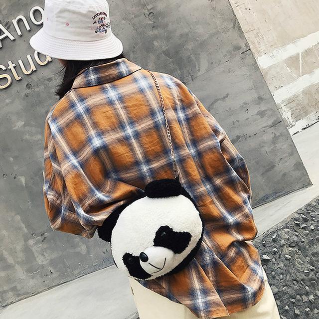 Сумочка-игрушка Голова Панды большая