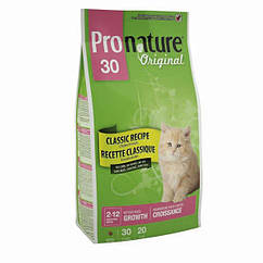 Pronature Original Kitten корм для кят всех пород, 20 кг