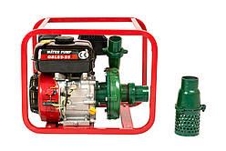 Мотопомпа бензиновая Weima WMQBL65-55(бензин, высоконапорная, напор 60м, хорошо для капельного)