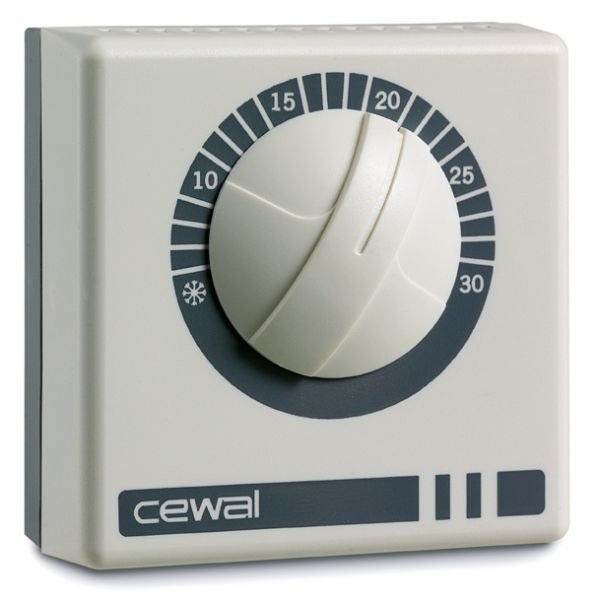 Механічний кімнатний регулятор температури Cewal RQ 10