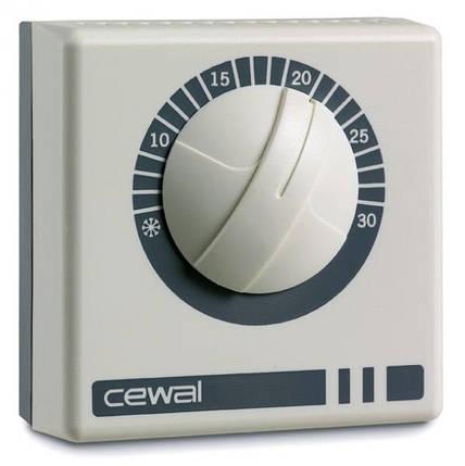 Механічний кімнатний регулятор температури Cewal RQ 10, фото 2