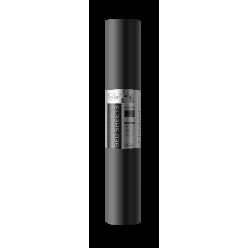 Одноразовые простыни СМС Premium Black Etto 30гр/м2 (0,8х100 м.п., черный)