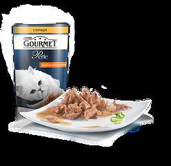 Gourmet Perle (Гурме Перл) консерва для кошек мини филе 85 г