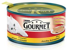 Gourmet (Гурме) консерва для кошек Паштет с уткой и курицей 195 г
