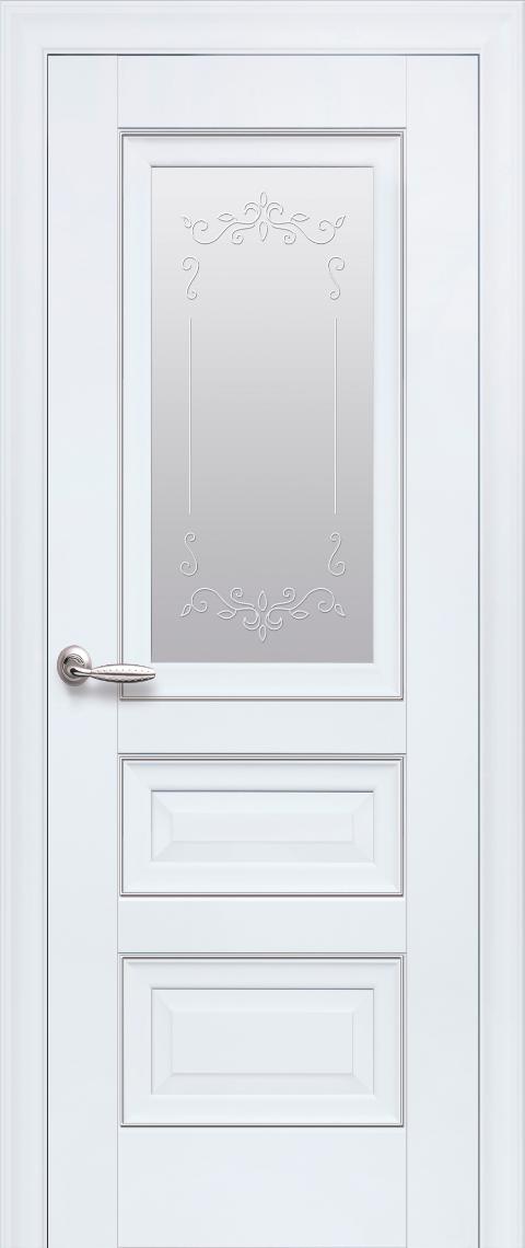 Межкомнатные двери Новый Стиль Статус полотно остекленное