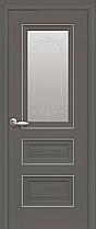 Межкомнатные двери Новый Стиль Статус полотно остекленное, фото 3