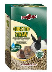 Наполнитель Versele-Laga Prestige Cubetto Straw для грызунов, солома, 5 кг