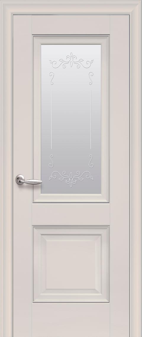 Межкомнатные двери Новый Стиль Имидж полотно остекленное