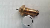 Термостатичний клапан для сталевого радіатора з нижнім підключенням, фото 1