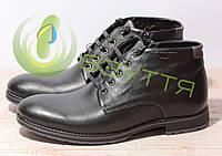 Шкіряні чоловічі черевики арт 2870 год розміри 42,43,44,45, фото 1