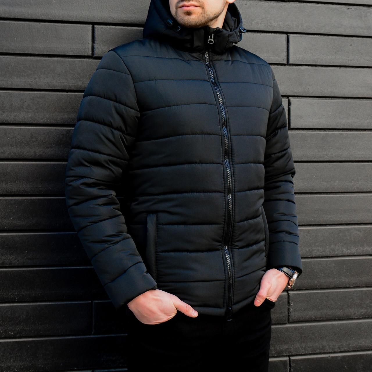 Куртка Зимняя Фелл (Черная)